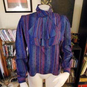 Vintage Nicola Cravat Blouse